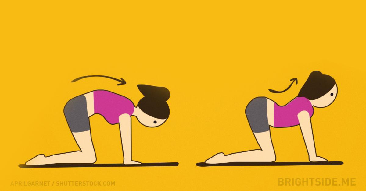 8 prostych ćwiczeń, dzięki którym już nigdy więcej nie będziesz narzekać na ból pleców!