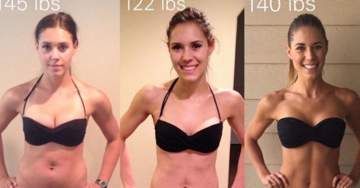 Przytyła i wygląda świetnie! Ta dziewczyna udowadnia, że kilogramy na wadze to ściema.