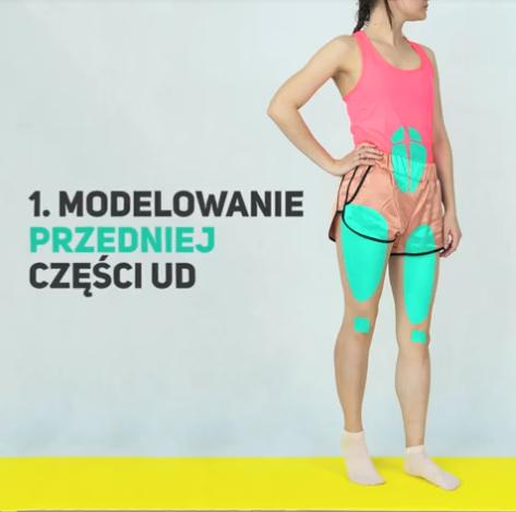 Modelowanie przedniej, tylnej i wewnętrznej części ud. 4 proste ćwiczenia