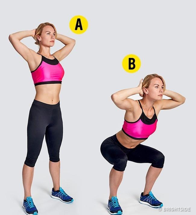 Prosty 4-minutowy trening, który spala dużą ilość kalorii w krótkim czasie