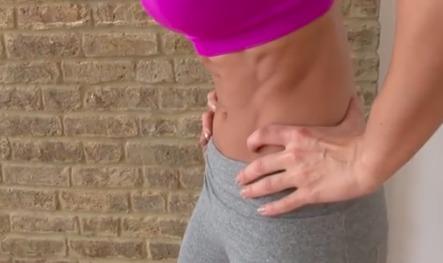 odkurzanie brzucha