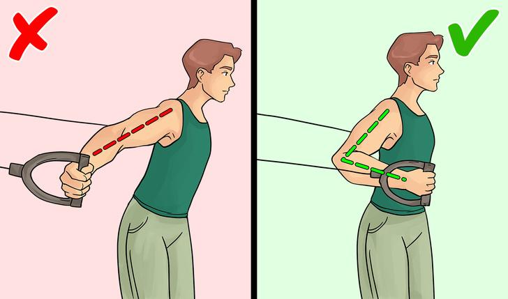 Źle wykonywane ćwiczenia
