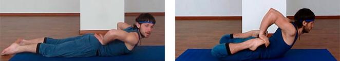 Żabka ćwiczenie rozciągające
