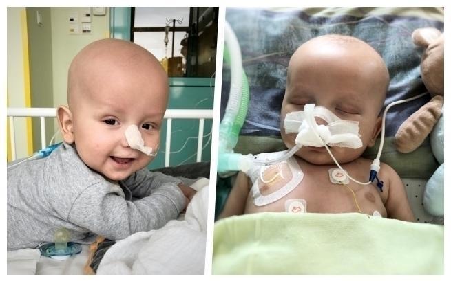 Śmiertelnie niebezpieczny nowotwór odbiera życie małego Wojtusia. Rodzice błagają o pomoc