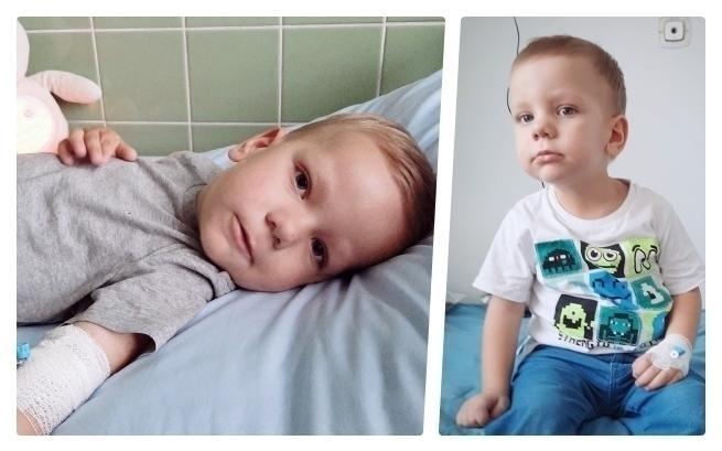 """Ratujemy życie Kubusia. """"Mój synek cierpi na okrutną chorobę…"""""""