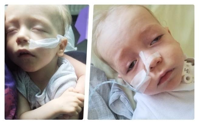 Trwa walka o życie małego Leosia. 14-miesięczny maluszek umiera na OIOM-ie