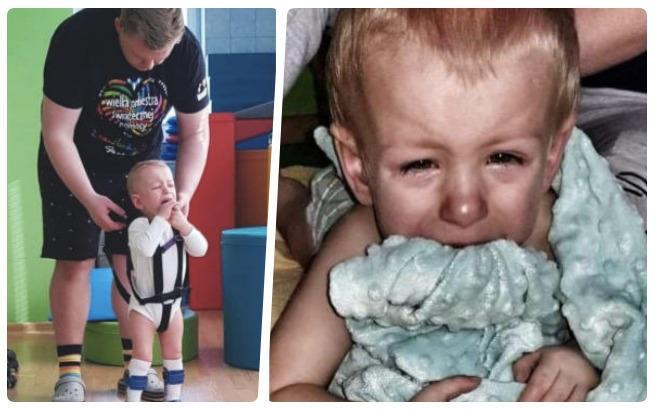 Borysek urodził się 3 miesiące za wcześnie. Maluszek bardzo potrzebuje naszej pomocy