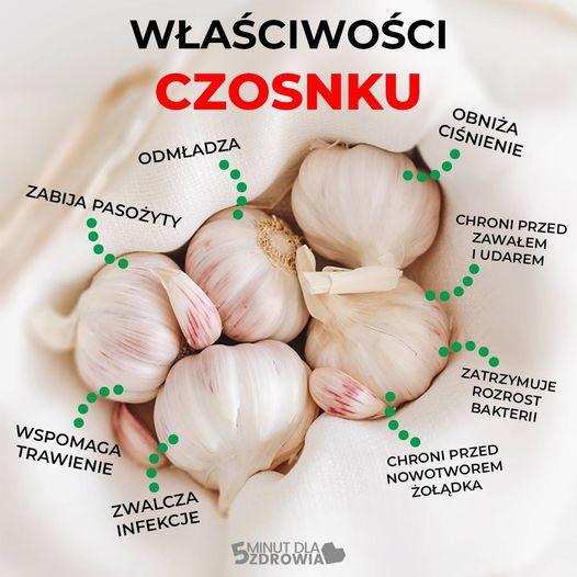 Czosnek jedzony na czczo chroni przed zawałem i pasożytami. Należy tylko wiedzieć jak go jeść!