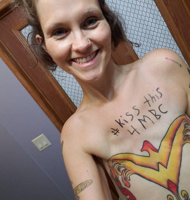tatuaż po mastektomii