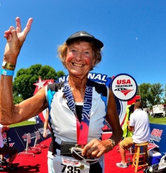 91-letnia zakonnica ironman